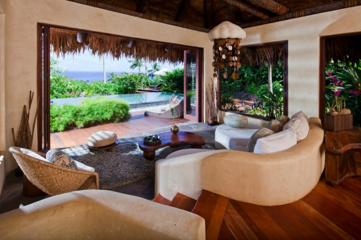 panoramic view from luxury bungalow laucala resort