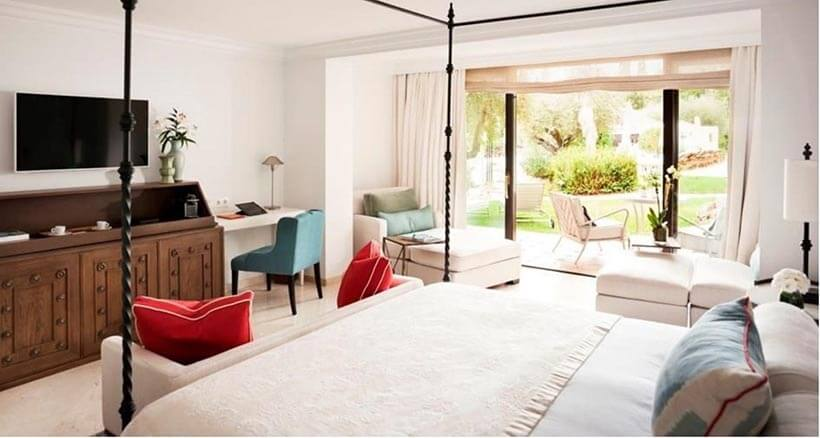 luxury junior suite at spain hotel marbella club