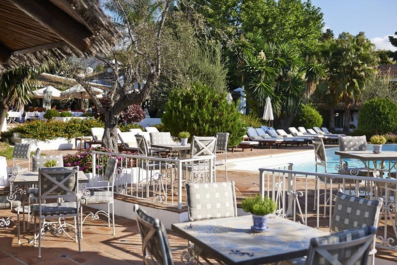 pool bar terrace marbella club hotel