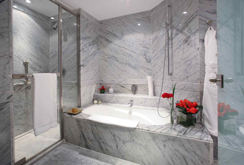 luxury designed bathroom hotel suite the brick buenos aires