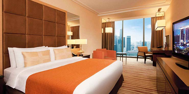 luxury room modern design view to singapore