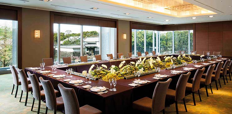 large business meetings room hotel palace tokyo
