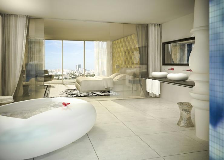 Unique Luxury Hotel In Miami Mondrian South Beach Hotel