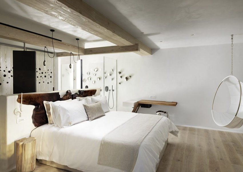 minimalistic luxury designed suites hotel greece island