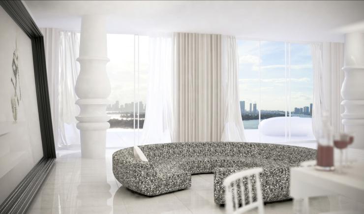 Design Chic Luxury Boutique Hotel Mondrian South Beach In Miami