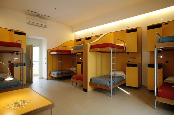 Seven Hostel For A Pleasant Stay At Sorrento Italy