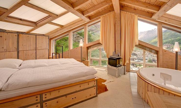 Unique Luxury Chalet In Zermatt Switzerland