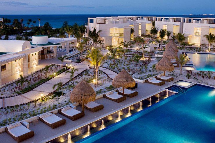 exotic vacation luxury hotel mexico