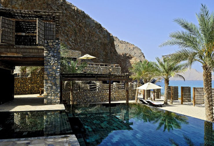 luxury villa oman resort six senses zighy bay