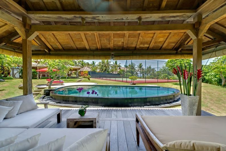 indoor and outdoor living Bali villa holiday
