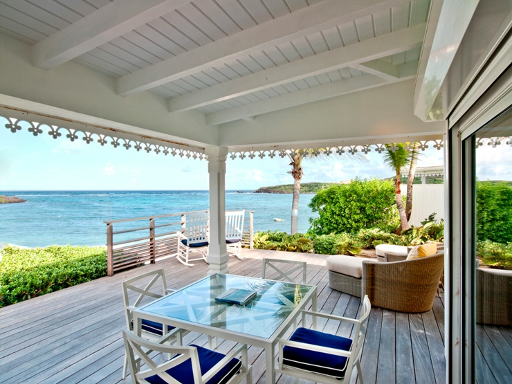 st barts luxury hotel Guanahani hotel and spa