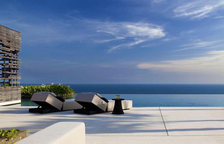 gorgeous sea view infinity pool luxury villa bali