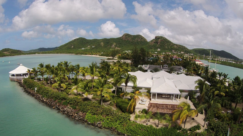 exotic vacation familly villa luxury destination antigua