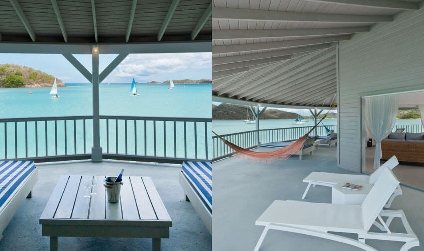 caribbean sea view antigua rental villa luxury