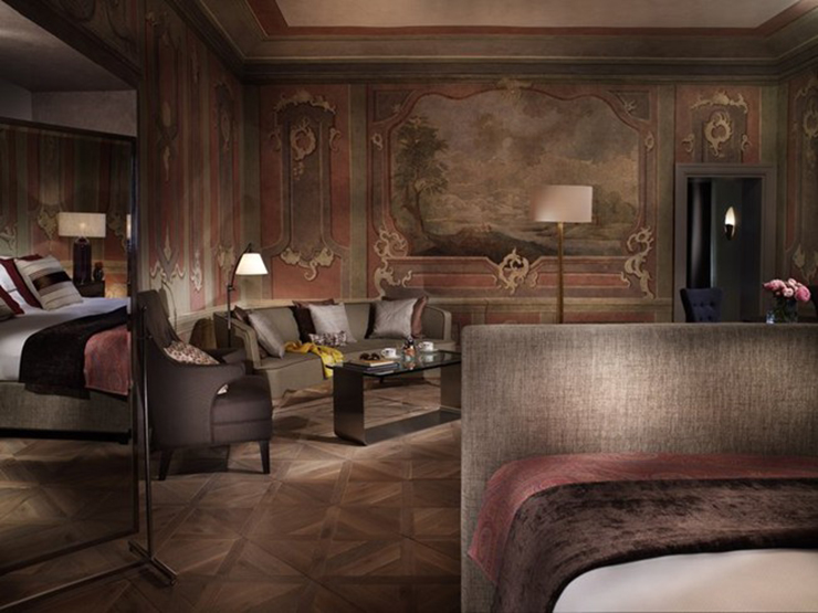 The augustine luxury hotel set in a 13 century prague for Designer hotel prague