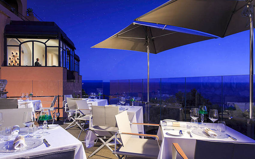 terrace expensive restaurant capri hotel luxury vacation