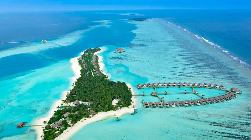 heavenly beautiful resort Maldives villas rentals