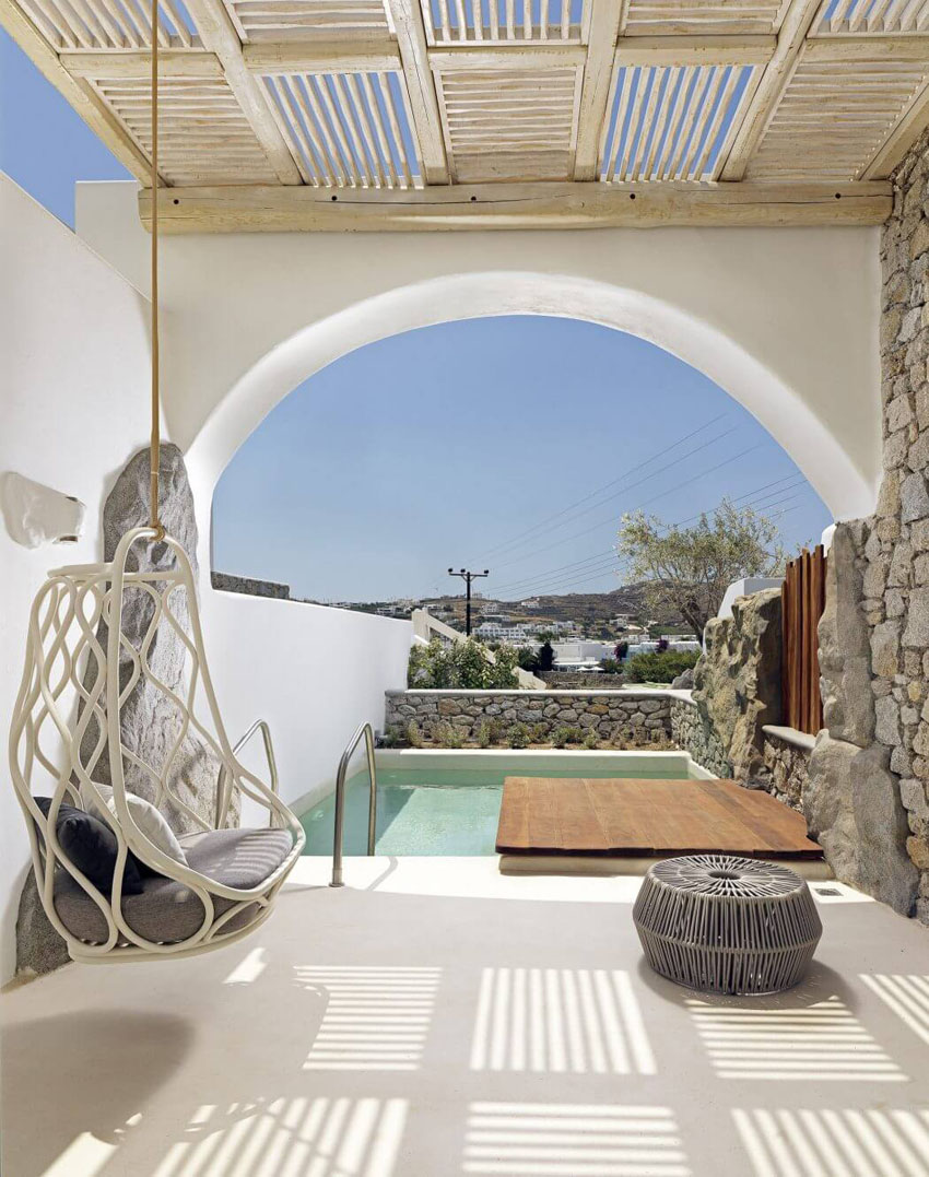 suites private pool prestigious stay mykonos