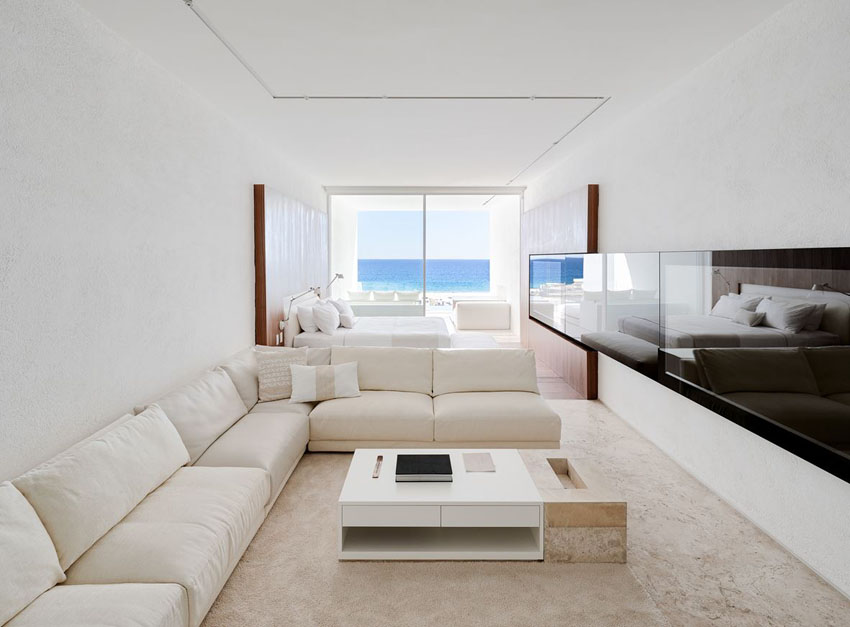 stylish interior polychrom design suites hotel los cabos