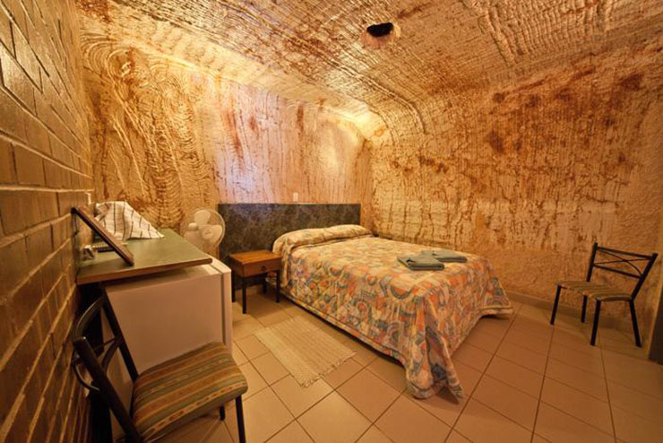 radeka underground motel room South Australia