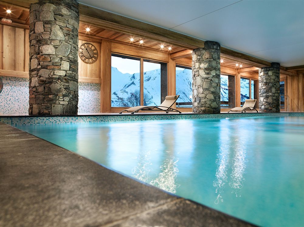 Luxury ski holiday at residence cgh les chalets du gypse - St martin de belleville office du tourisme ...