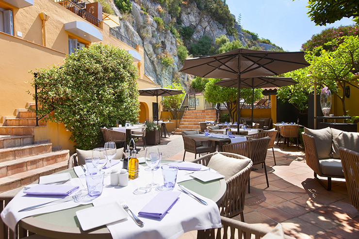 hotel restaurant la patio in nice