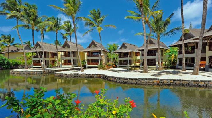bungalows on slits Mauritius resorts