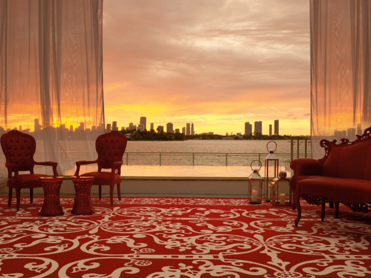 romantic view mondrian south beach suite