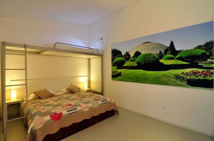 3 personn room cheap holiday porto