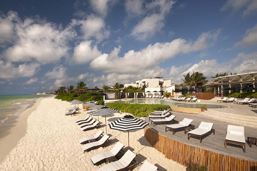 Rosewood Mayakoba Private Beach