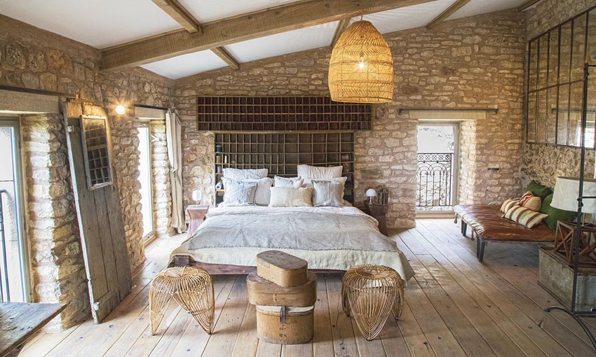 French provincial house ad austrum offers an idyllic - Rustic french interior design ...