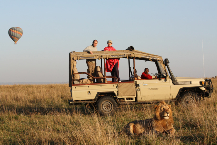 Safari Kenya luxury tent vacation