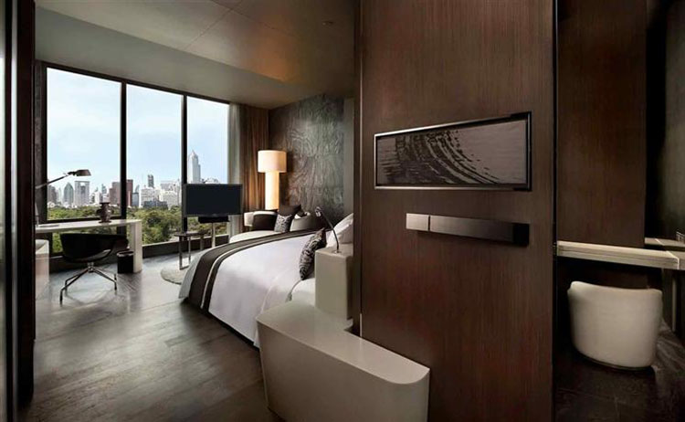 city hotel asia bankgog with luxury furnishing and view