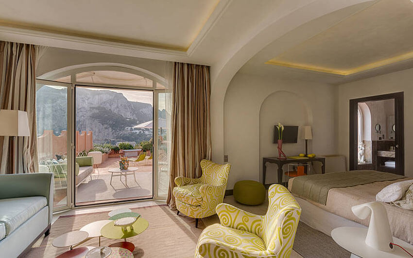 rooftop penthouse luxury interior design luxury getaway vacation italy capri