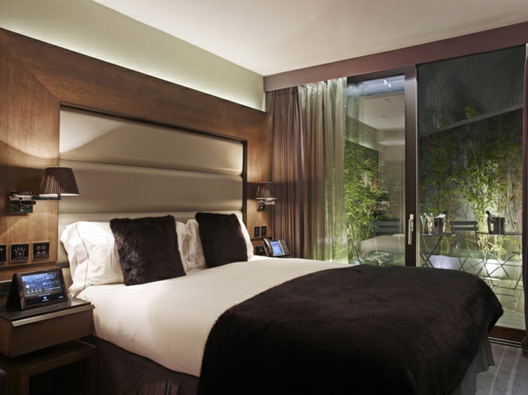 London boutique hotel eccleston square hotel for Stylish hotel rooms