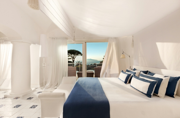boutique luxury palace suite capri