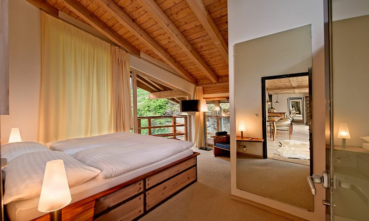 luxury rental chalet alpes