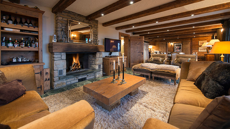 Enjoy Incredible Swiss Alps Ski Holiday At Chalet Corniche