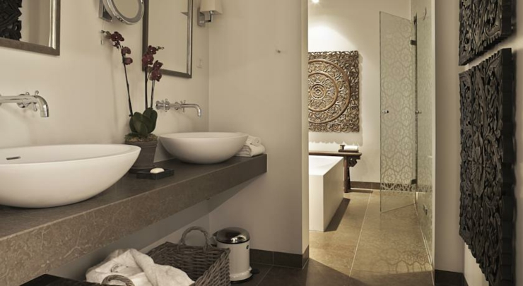 the nimb hotel luxury bathroom