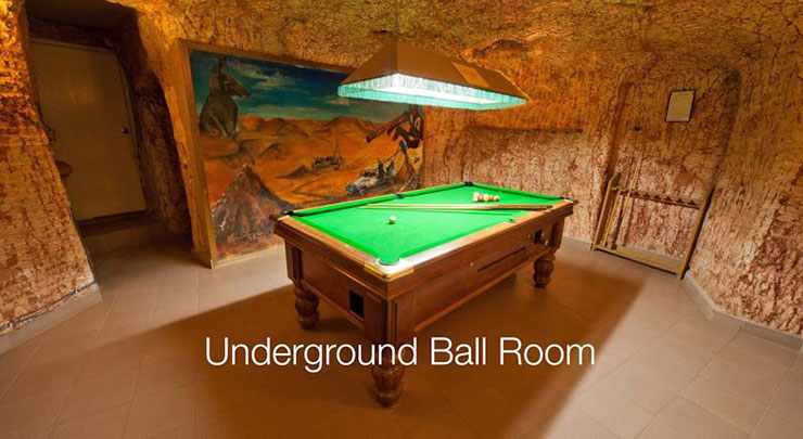 billiard game room with 8 ball table