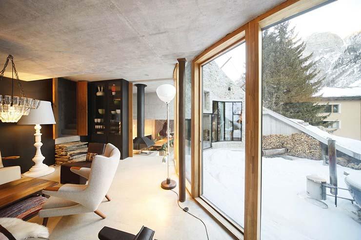 Villa Vals Luxury Recreation In Swiss Alps