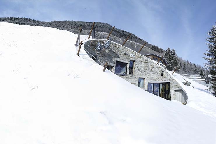Villa Vals villa vals luxury recreation in swiss alps