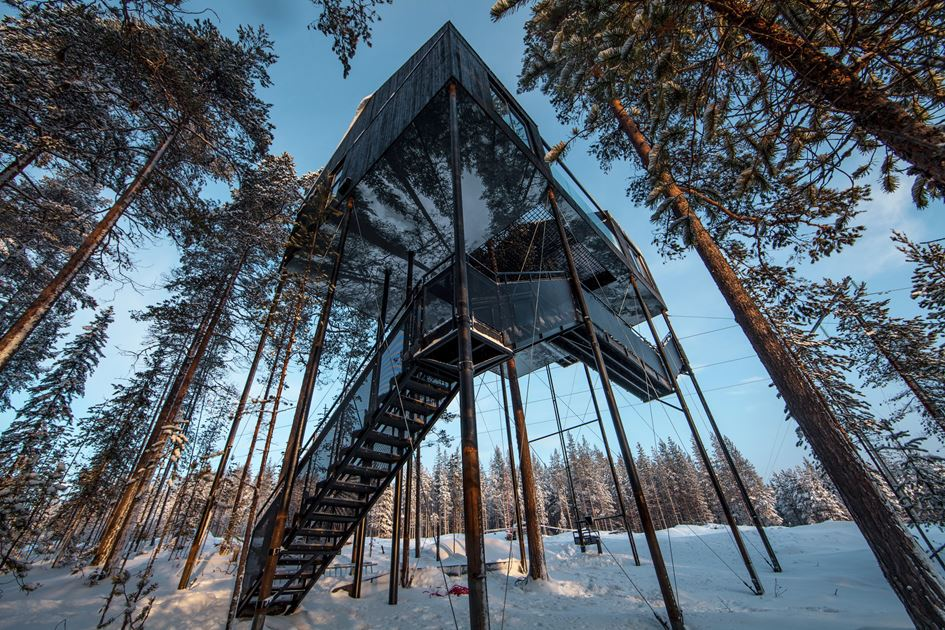 Visit this Unique TreeHotel in Harads, Sweden