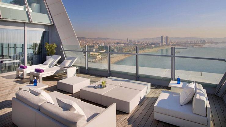 W barcelona sail like hotel in catalonia for W hotel barcelona spa