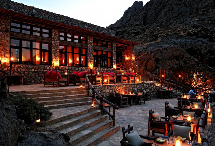 romantic restaurant zighy bay summer resort