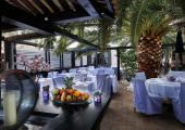 open air French Riviera hotels luxury restaurant