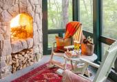 Book Accommodation at this Gorgeous Rustic Style Cottage