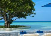 Turquoise water heavenly exotic landscape