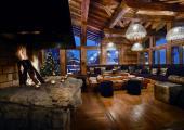 big fireplace rustic ski chalet rental luxury