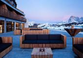 luxury contemporary italian alps hotel nice view